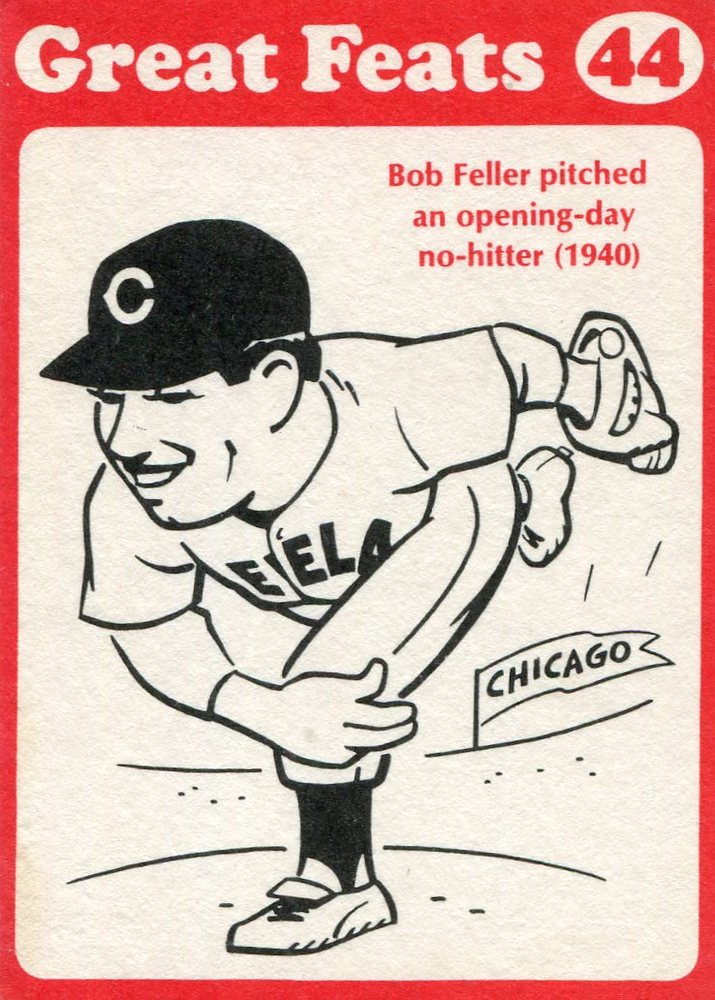 1972 Laughlin Great Feats #44 Bob Feller