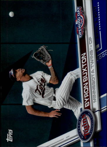 Photo of 2017 Topps Opening Day Blue Foil #167 Byron Buxton