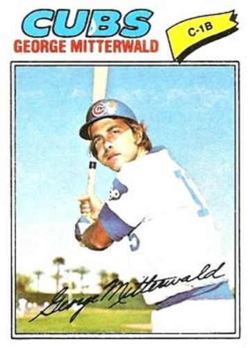 Photo of 1977 Topps #124 George Mitterwald