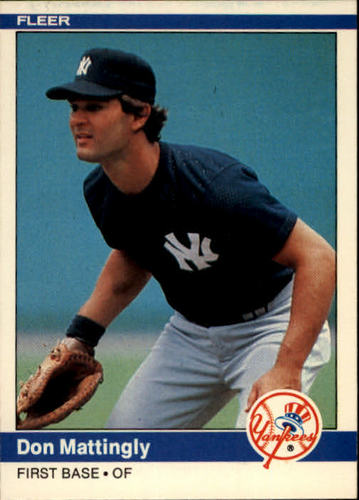 Photo of 1984 Fleer #131 Don Mattingly RC