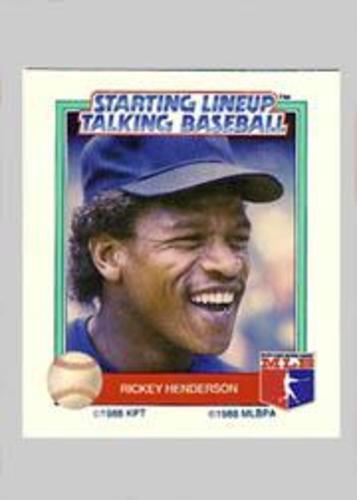 Photo of 1988 Starting Lineup All-Stars #14 Rickey Henderson
