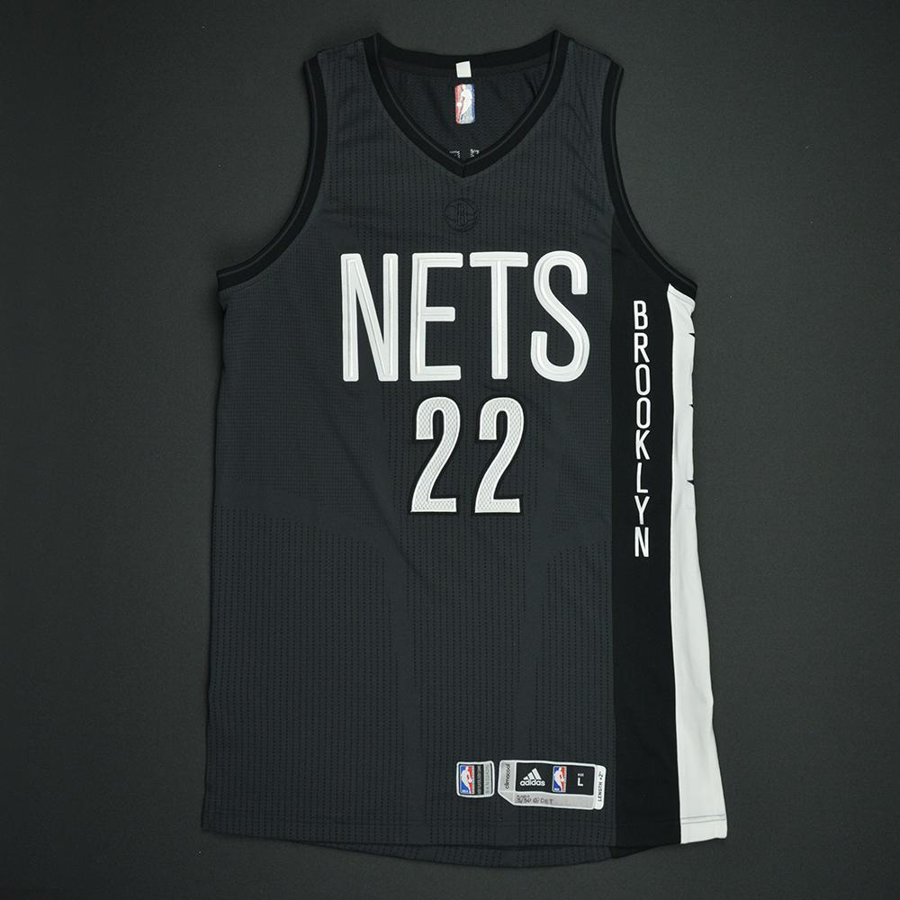 Caris LeVert - Brooklyn Nets - Game-Worn Black Alternate Jersey - 2016-17 Season