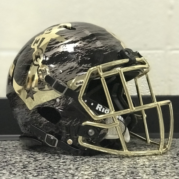 Game-Worn Commodores Deep Water Football Helmet *BUY NOW*