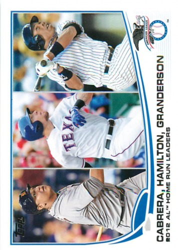Photo of 2013 Topps #153 Miguel Cabrera/Josh Hamilton/Curtis Granderson