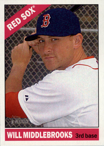 Photo of 2015 Topps Heritage #289 Will Middlebrooks