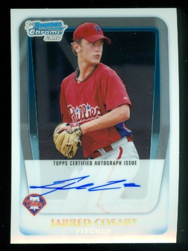Photo of 2011 Bowman Chrome Prospect Autographs #BCP87 Jarred Cosart
