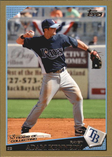 Photo of 2009 Topps Gold Border #578 Adam Kennedy