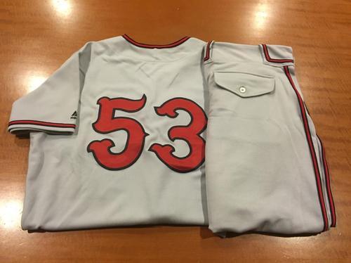 Photo of Wandy Peralta Game-Used Cincinnati Tigers Uniform