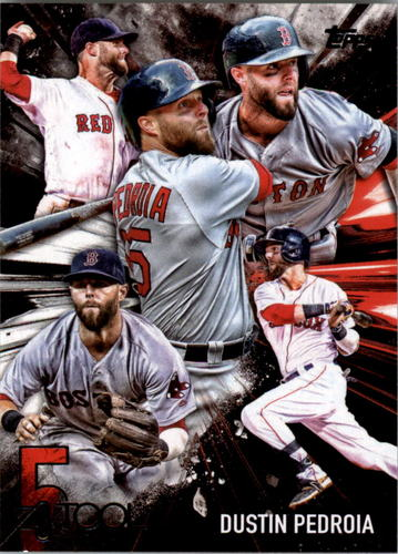 Photo of 2017 Topps Five Tool #5T28 Dustin Pedroia