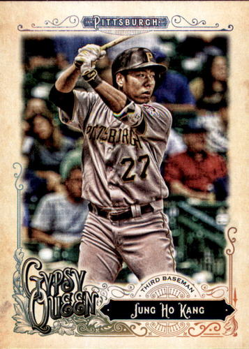 Photo of 2017 Topps Gypsy Queen #58 Jung Ho Kang