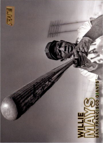 Photo of 2016 Stadium Club Gold #194 Willie Mays