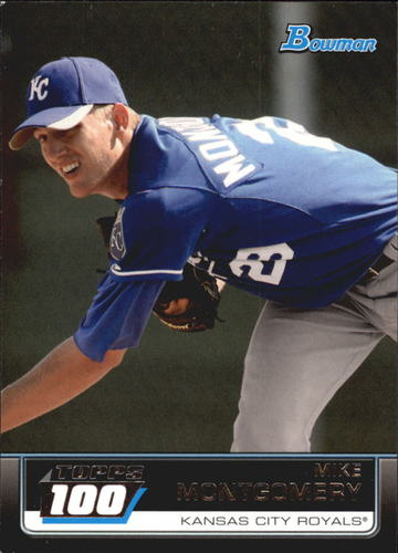 Photo of 2011 Bowman Topps 100 #TP15 Mike Montgomery Cubs post-season