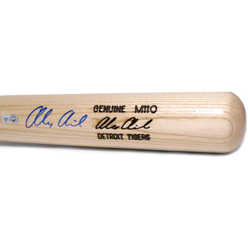 Photo of Detroit Tigers Alex Avila Autographed Game Bat