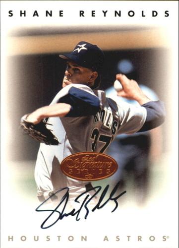 Photo of 1996 Leaf Signature Autographs #193 Shane Reynolds