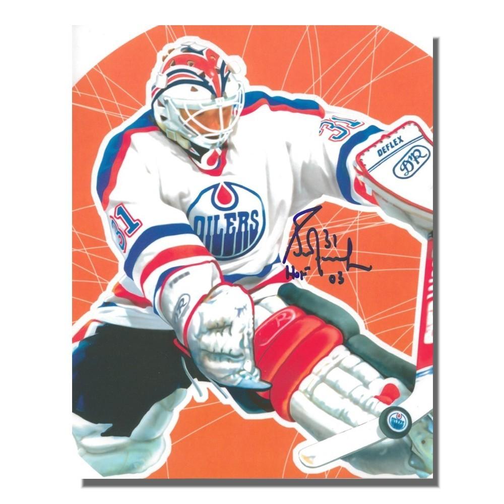 Grant Fuhr Autographed Edmonton Oilers 8x10 Photo