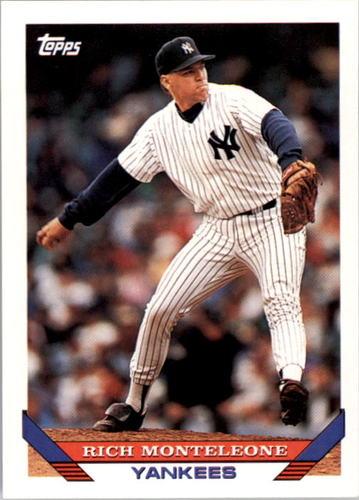 Photo of 1993 Topps #779 Rich Monteleone