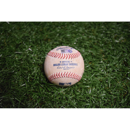 Photo of Game-Used Baseball: Didi Gregorious RBI single off Chris Archer