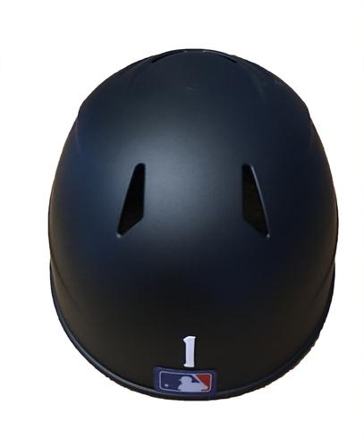 Photo of Gary Jones Game-Used Chicago Leland Giants Batting Helmet -- Cubs vs. Pirates -- 6/16/17