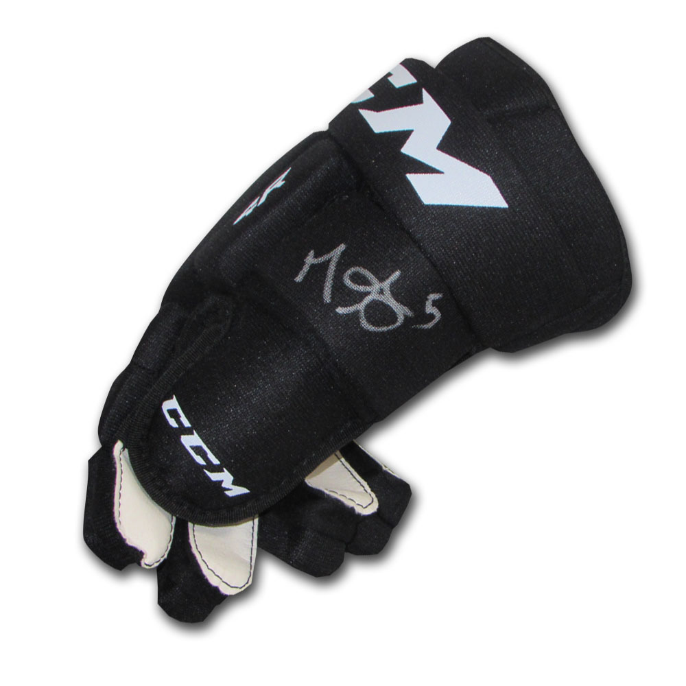 Mark Giordano Autographed CCM Hockey Glove (Calgary Flames)
