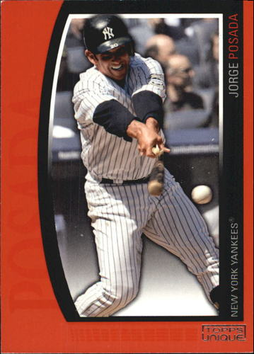 Photo of 2009 Topps Unique Red #139 Jorge Posada