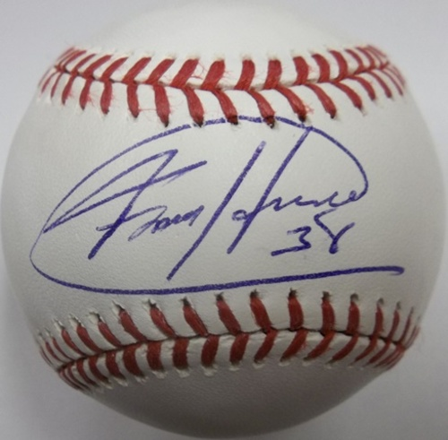 Photo of Felix Hernandez Autographed Baseball