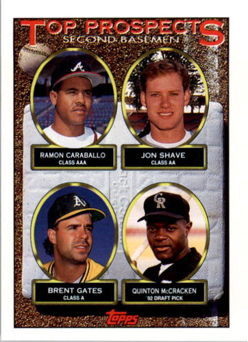 Photo of 1993 Topps #451 Ramon Caraballo/Jon Shave RC/Brent Gates/Quinton McCracken
