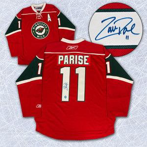 Zach Parise Minnesota Wild Autographed Reebok Premier Jersey
