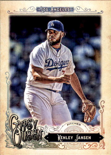 Photo of 2017 Topps Gypsy Queen #59 Kenley Jansen