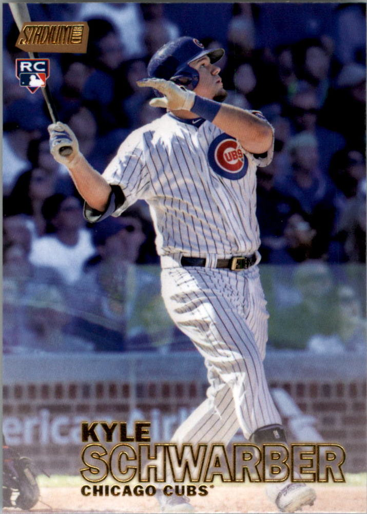 2016 Stadium Club Gold #277 Kyle Schwarber