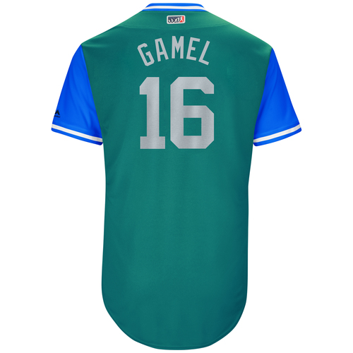 "Photo of Ben ""Gamel"" Gamel Seattle Mariners Game-Used Players Weekend Jersey"