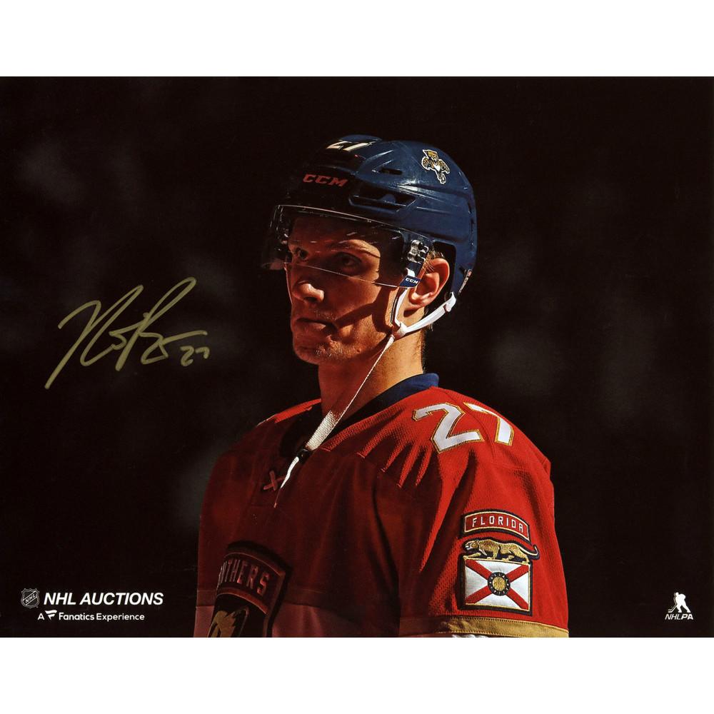 Nick Bjugstad Florida Panthers Autographed 8