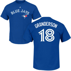 Toronto Blue Jays Curtis Granderson Player T by Majestic