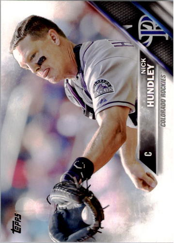 Photo of 2016 Topps #289 Nick Hundley