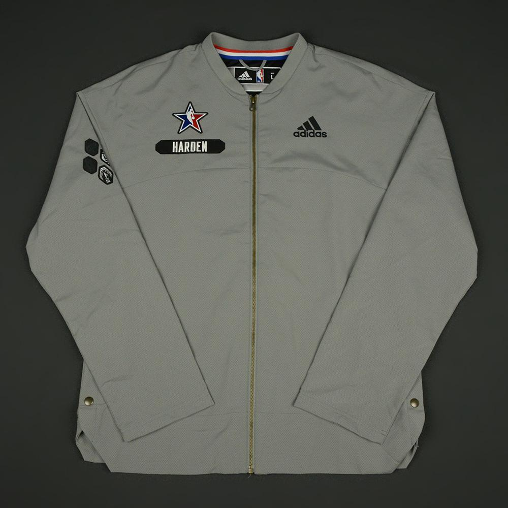 James Harden - 2017 NBA All-Star Game - Western Conference - Warmup-Worn Jacket