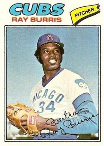 Photo of 1977 Topps #190 Ray Burris