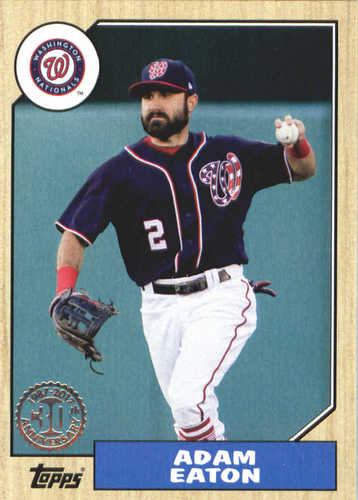 Photo of 2017 Topps Update '87 Topps #US875 Adam Eaton