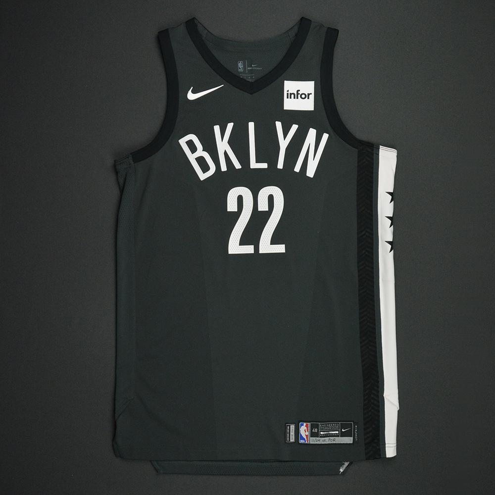 Caris LeVert - Brooklyn Nets - Statement Game-Worn Jersey - 2017-18 Season