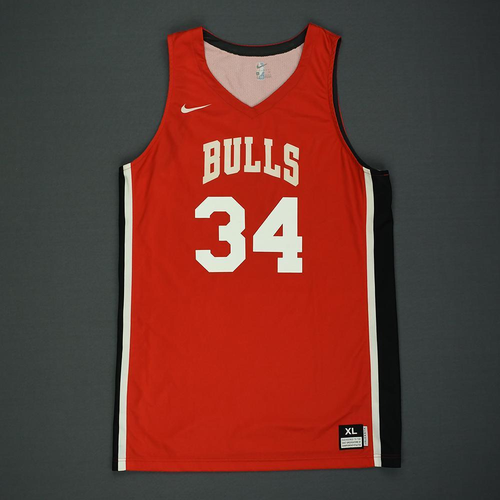 Wendell Carter Jr - Chicago Bulls - 2018 NBA Summer League - Game-Worn Jersey