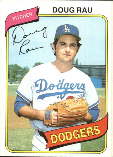 Photo of 1980 Topps #527 Doug Rau DP
