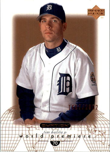 Photo of 2002 Upper Deck Ovation #87 Tim Kalita WP RC