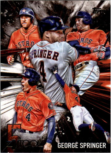 Photo of 2017 Topps Five Tool #5T30 George Springer