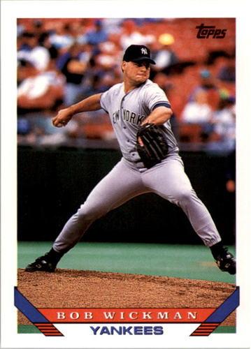 Photo of 1993 Topps #452 Bob Wickman