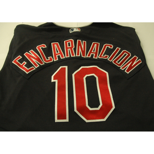 Photo of Edwin Encarnacion Game Worn Jersey - Walk-Off Grand Slam