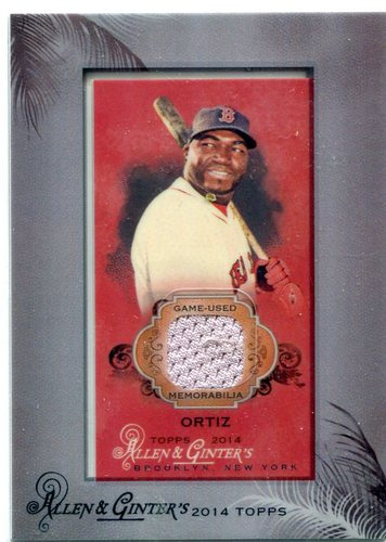 Photo of 2014 Topps Allen and Ginter Mini Framed Relics  David Ortiz