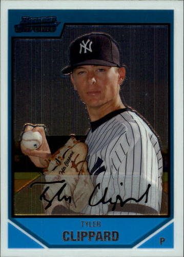 Photo of 2007 Bowman Chrome Prospects #BC200 Tyler Clippard  -- Astros post-season