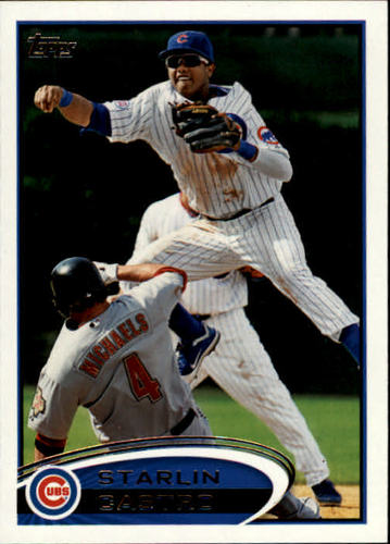 Photo of 2012 Topps #270A Starlin Castro
