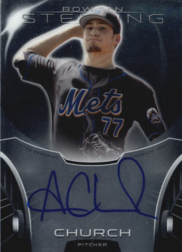 Photo of 2013 Bowman Sterling Prospect Autographs #AC Andrew Church