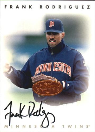 Photo of 1996 Leaf Signature Autographs #197 Frank Rodriguez