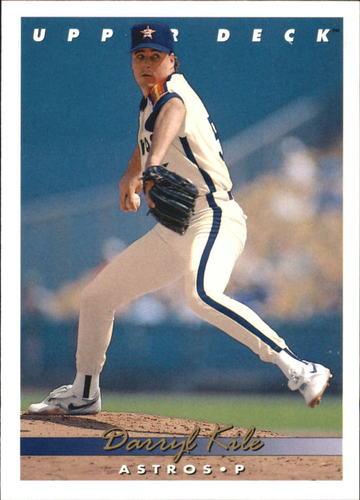 Photo of 1993 Upper Deck Gold Hologram #314 Darryl Kile