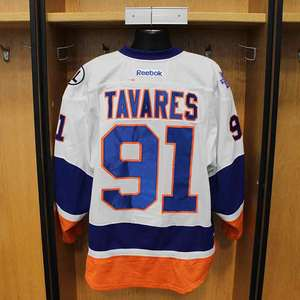 John Tavares - Game Worn Away Jersey - 2015-16 Season - New York Islanders